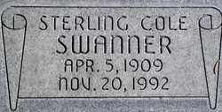 Sterling Cole Swanner