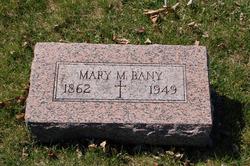 Mary Magdalena <i>Marion</i> Bany