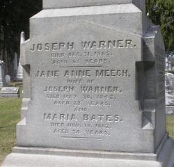 Maria <i>Bates</i> Warner
