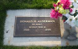 Donald H Alderman