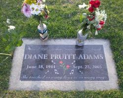Diane <i>Pruitt</i> Adams