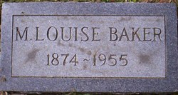 M. Louise Baker
