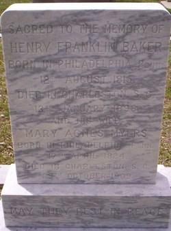 Mary Agnes <i>Myers</i> Baker