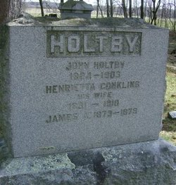 Henrietta <i>Conkling</i> Holtby