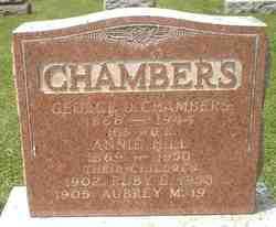 Aubrey M Chambers