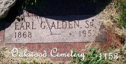 Earl G. Alden, Sr