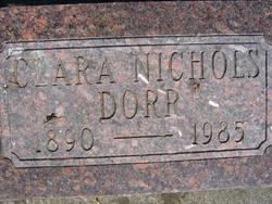 Clara <i>Nichols</i> Dorr