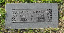 Gladys A <i>Brown</i> Baker