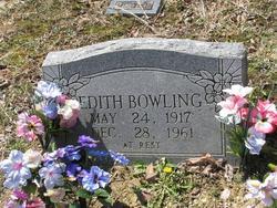 Edith <i>Coffey</i> Bowling