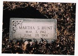 Martha Samantha <i>Bunch</i> Hunt