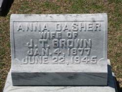 Anna <i>Dasher</i> Brown