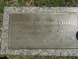 Margaret <i>Workman</i> Charles