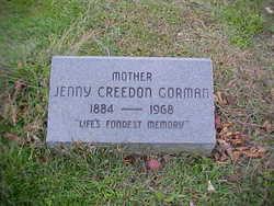 Jane Jenny <i>Creedon</i> Gorman