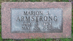 Marion J. Armstrong