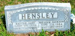 Hattye Jane Hensley