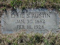 Effie <i>Stroman</i> Austin