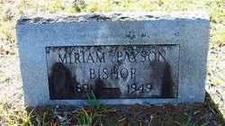 Miriam <i>Payson</i> Bishop