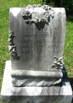 Estelle Stella <i>West</i> Abshagen