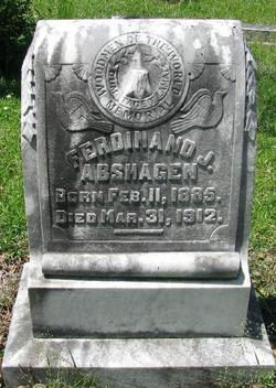 Ferdinand John Ferd Abshagen, Jr