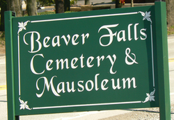 Beaver Falls Cemetery and Mausoleum