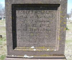 Pvt Robert Hubbard