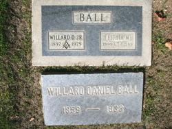 Willard Daniel Ball, Sr