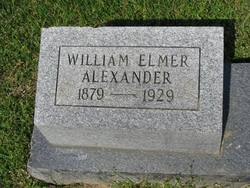 William Elmer Alexander, Sr