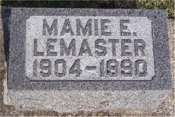 Mamie E. LeMaster
