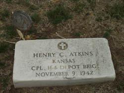 Henry C Hank Atkins