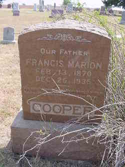 Francis Marion Cooper