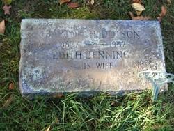 Edith Laura <i>Jennings</i> Dotson