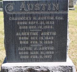Chauncey H Austin, Sr