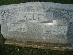 Edith L <i>Bowman</i> Allen