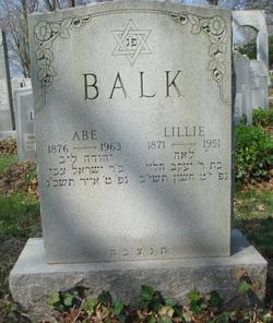Lillie <i>Treger</i> Balk