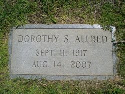 Dorothy Augusta <i>Sink</i> Allred