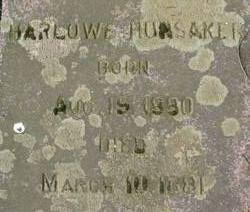 Harlowe Hunsaker