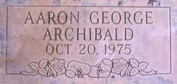 Aaron George Archibald
