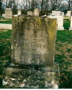 Thomas B Boyle