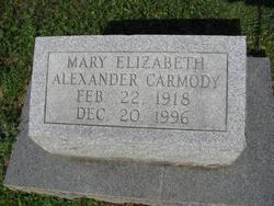 Mary Elizabeth <i>Alexander</i> Carmody