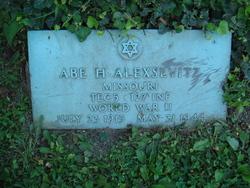 Abe H. Alexsevitz