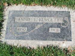 Annie Elizabeth <i>French</i> Burgett
