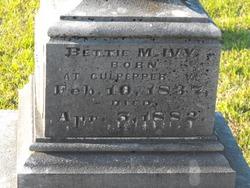 Bettie M Ivy