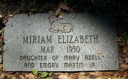 Miriam Elizabeth Martin