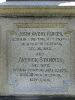 Averick <i>Standish</i> Parker