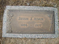 Jessie Jane <i>Blakemore</i> Adair