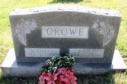 M Evelyn Crowe