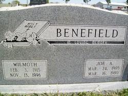 Joe A Benefield