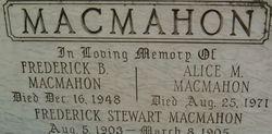 Alice M Macmahon