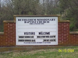 Bethlehem Missionary Church Cemetery