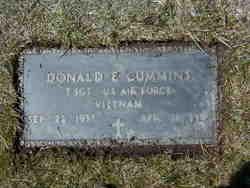 Donald E Cummins, Sr